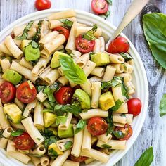 Pasta doesn't always have to equal a food coma. Try out these 8 fresh vegan pasta dishes that won't weigh you down. The vegan avocado Caprese pasta salad, or the broccoli tahini pasta salad could be your new faves.