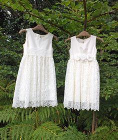 Cotton Flower Girl Dresses (by Olive & Fern via EmmalineBride.com ...