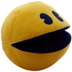 Pacman 12 Inch Plush Pillow $20