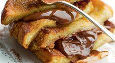 Recette de #brioche #perdue au #chocolat, pour un petit-déjeuner vraiment gourmand !