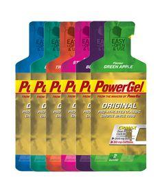 POWERBAR - POWERGEL ORIGINAL (24 Gels) - Energy gel with C2MAX Dual Source Carb Mix and extra sodium.