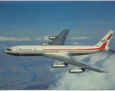 Check out our memorabilia selection for the very best in unique or custom, handmade pieces from our shops. Boeing 707, Boeing Aircraft, Canadian Airlines, Air Space, Commercial Aircraft, Civil Aviation, Bus, Motown, Military Aircraft
