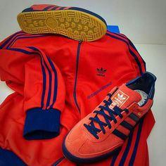adidas Jeans and OG trackie top