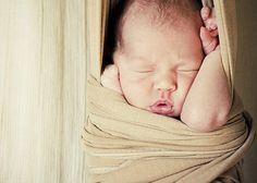 I love squishy newborn faces!