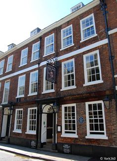 Walked by it many times...  Guy Fawkes Inn York, England. In the shadow of York Minster Guy Fawkes was born here,  25 High Petergate, York on 13th April, 1570. He was baptised in St Michael le Belfrey Church opposite