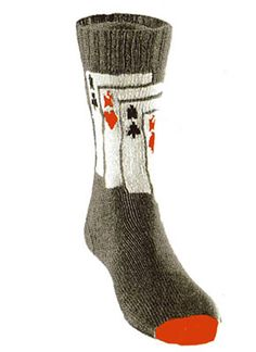 4 Aces Socks Pattern #7240