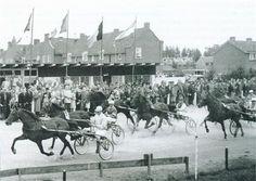Historie Nootdorp: Midden in het dorp bevond zich de drafbaan van Nootdorp.