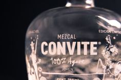 Botella Mezcal CONVITE. Mezcal Premium.