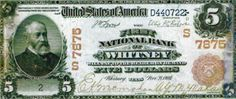 First National Bank of Whitney note Business Checks, Texas, Note, Personalized Items, Texas Travel