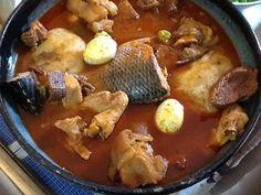 Fufuo and Nkrankra Ghanaian Food, Nigerian Food, Caribbean Recipes, Caribbean Food, West African Food, My Best Recipe, Mets, Soul Food, Food Porn