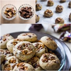 Deli cookies with Snickers « Tina
