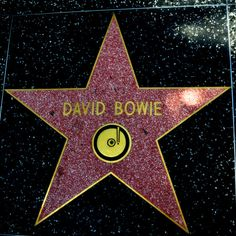 Hollywood Walk Of Fame - David Bowie David Bowie, Bowie Labyrinth, Labyrinth Movie, New York City, Since Youve Been Gone, Ziggy Played Guitar, Mick Ronson, The Thin White Duke, Major Tom