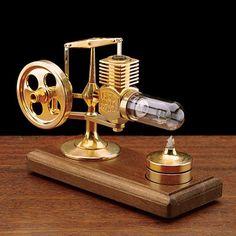 Glass Cylinder Stirling by Garrett Wade