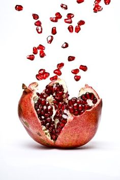 Research says powerful anthocyanins in pomegranates could reverse blocked arteries.