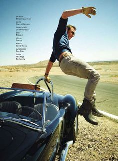 Actor Michael Fassbender takes the cover story of american GQ Magazine with a shoot by magazine's regular Peggy Sirota.