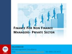 Finance for non financial managers Cover page