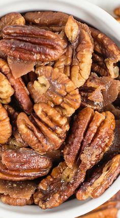 Easy Sugar Free Candied Pecans- these are awesome!
