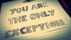 Paramore, the only exception