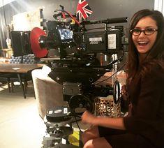 """Nina Dobrev on Instagram: """"Adding """"camera operator"""" to my resume. #CrashPadMovie"""""""
