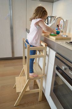 My Little Helpers Learning Tower by MyLittleGigglesMelb on Etsy