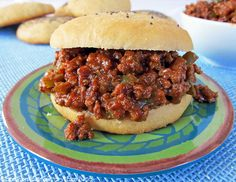 Easy Homemade Sloppy Joes....I altered the recipe a little. I only used the ketchup, water, vinegar, brown sugar, S & I added a tsp of mustard. It was Fantastic!!