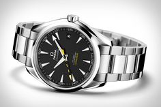 Omega Anti-Magnetic Seamaster Aqua Terra Watch, made from non-ferrous materials and able to withstand field strengths up to 15,000 Gauss. Ultimate NMR nerd watch.