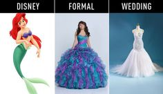 18 Disney Princesses-Inspired Gowns for Every Stage of Life