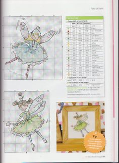 cute cross stitch little fairy crazy