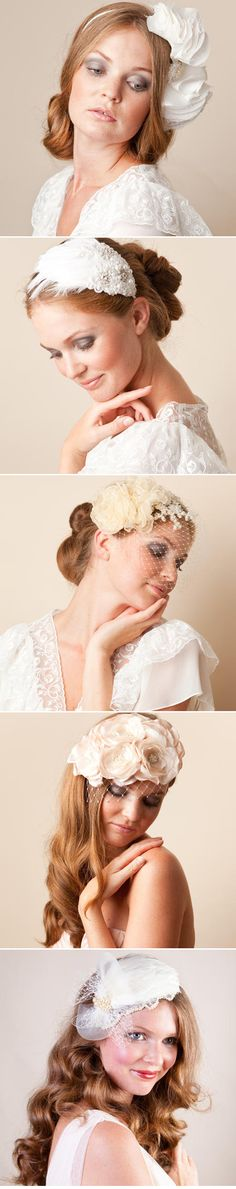 The Incredible Jannie Baltzer // Headwear Heaven=====love all of these head pieces!