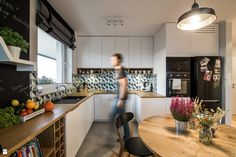 Kuchnia styl Skandynawski - zdjęcie od EG projekt - Kuchnia - Styl Skandynawski - EG projekt