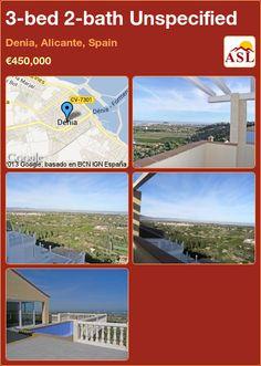 3-bed 2-bath Unspecified in Denia, Alicante, Spain ►€450,000 #PropertyForSaleInSpain