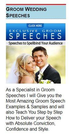 Learn The Basics Of A Perfect Groom's Speech