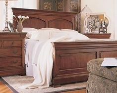 Thomasville Furniture King Street Cal King Panel Bed Headboard Only 42611-437
