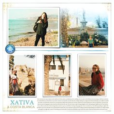 Old photos of European travels  Fade Out No.02 templates and supplies, Lynn Grieveson, Designer Digitals