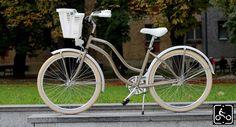 Egyedi Agyváltós Női Cruiser Kerékpár 3sp - Gyöngybézs-Fehér