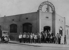 The staff of the El Tucsonense newspaper, circa Image courtesy of the Arizona Historical Society/Tucson Arizona History, Tucson Arizona, Historical Pictures, Ahs, Historical Society, Motel, Genealogy, Newspaper, Dancer