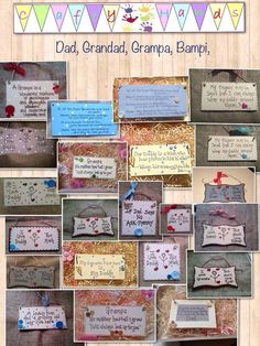 Father's Day gifts, grandad's, dads, bampa's and Bampi's #personalised gifts. Prices start from £4 www.facebook.com/craftyhandss quote Pinterest for #free postage