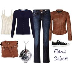 """Elena Gilbert"" by dana-rourke on Polyvore"