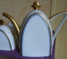 Art Deco TLB Limoges Teapot