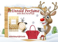 Elizabeth Arden Contest ~ WIN an Elizabeth Arden Prize Pack! Holiday Gift Guide, Holiday Gifts, Holiday Decor, Red Purses, Packing, Seasons, Christmas Ornaments, Giveaways, Lava