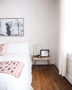 soft + simple bedroom