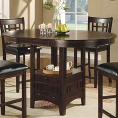 Coaster Fine Furniture Lavon Cappuccino Oval Dining Table 102888