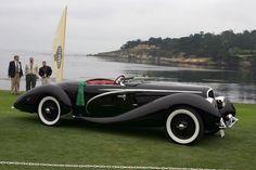 White walls  1937 Delahaye 135 M 2 Roadster