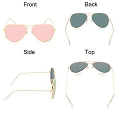 VOPOLAR Sunglasses for Women Men Aviator Polarized Unisex Superlight UV Driving Gold/Pink 63 >>> You can get more details by clicking on the image. (This is an affiliate link) Summer Sunglasses, Cat Eye Sunglasses, Mirrored Sunglasses, Glasses Case, Aviation, Unisex, Pink, Gold, Image