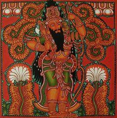 incarnations of Lord Vishnu part of Dashavatar Series Parasurama