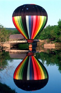 Reflections of a Balloonist.