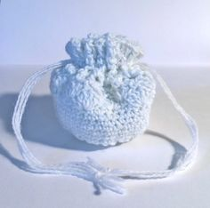 Crochet Lace Dice Bag Guitar Pick Bag Coin by SoftsideCrochet