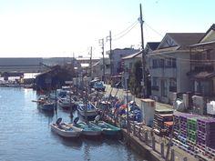 Funabashi fishing village