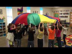 Parachute Activity to William Tell Overture Finale Music Ed, Music Stuff, Preschool Music, Preschool Ideas, Parachute Games, William Tell, Overture, Elementary Music, Music Classroom