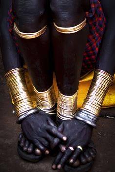 Bodi adornments, Omo Valley, Ethiopia